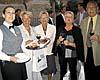 Vid kyrktorget i Rota serverades rikligt med utsökta tapas, följt av en middag i det vackra Hotel Duque de Nájera.