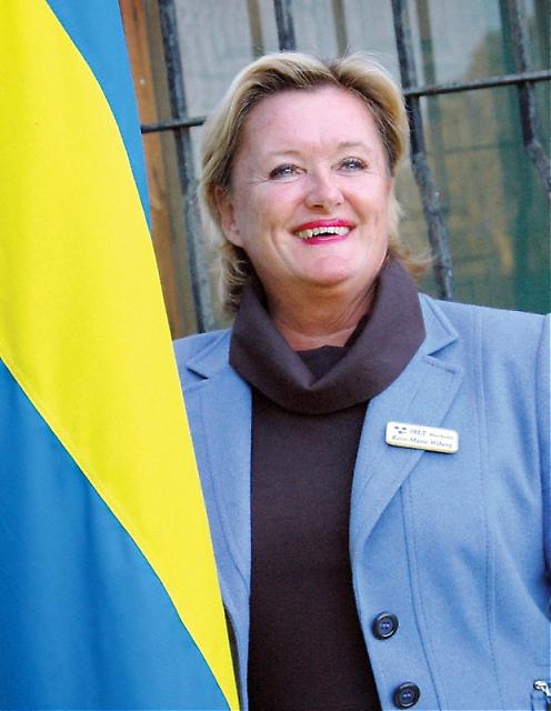 SWEA Marbellas ordförande sedan snart fem år Rose-Marie Wiberg har tilldelats Sydkustens utmärkelse Årets Svensk på Costa del Sol 2011.