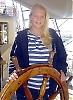 Petra Johansson och hennes 43 klasskamrater mönstrar av i Málaga och tar flyget hem till Göteborg. En ny grupp kommer nu att segla över Atlanten.