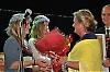 Rose-Marie Wiberg fick blommor och diplom och SWEA Marbellas donationskommitté ett tillskot på 600 euro.