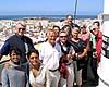 Cádizbesökarna tog sig upp i Torre Távira, högsta utsiktspunkten i den gamla stadskärnan.