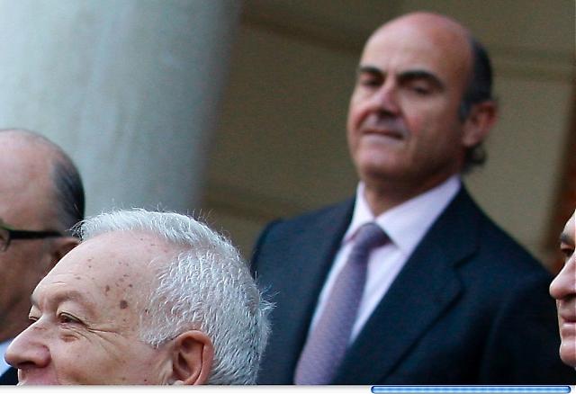 Nye finansministern Luis de Guindos bjuder på en dyster prognos för de närmaste månaderna. Foto: PP