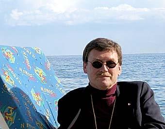 NÄRA HIMMELEN Lennart Koskinen är sedan i höstas biskop i Visby stift och som sådan ansvarig för de svenska utlandskyrkorna.