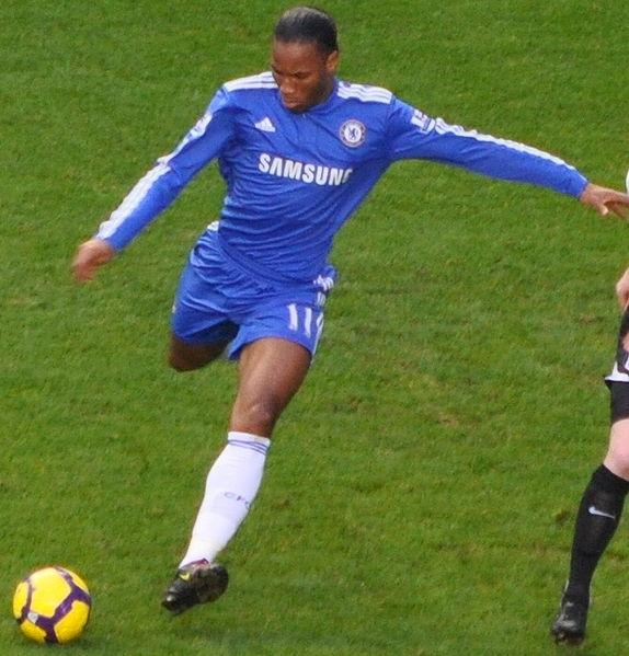 Didier Drogba sänkte Barcelona med Chelseas enda skott på mål.