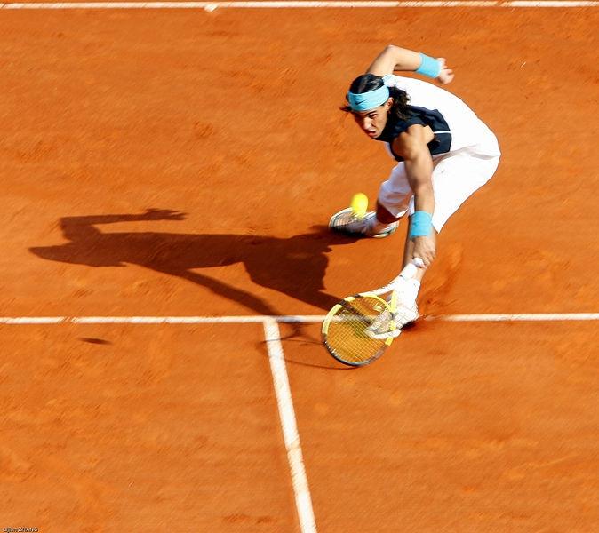 Rafa Nadal har lyft segerbucklan åtta gånger i rad på Monte Carlos grus.