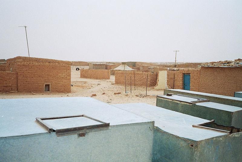 Många spanska hjälparbetare har varit verksamma vid flyktingslägret i Tinduf, i Algeriet.
