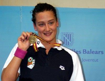 Katalanskan Mireia Belmonte knep 2 augusti Spaniens första och mycket efterlängtade OS-medalj.