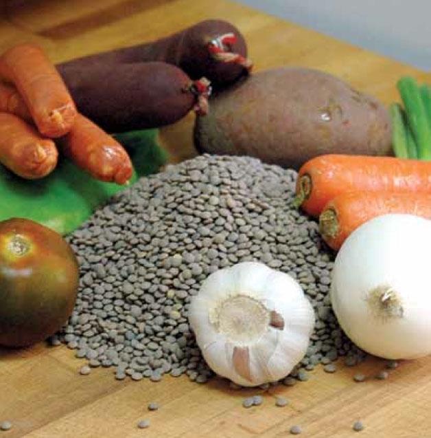 Lentejas är typexemplet på den enkla spanska matlagningskonsten.
